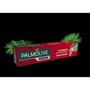 Palmolive Men - Crema Da Barba Classica con Estratto di Palma - 100 ml