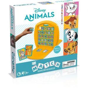 Winning Moves Jeu classique Match Disney Animaux