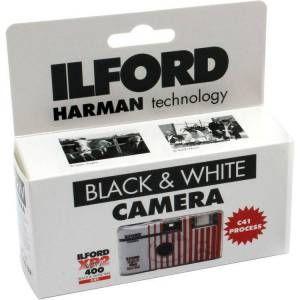 Ilford Appareil jetable noir et blanc xp2