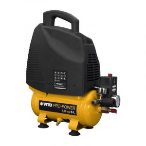 Vito Pro-Power Compresseur sans huile 1.5 cv / 230 V VITOPOWER 1100 W 6 litres