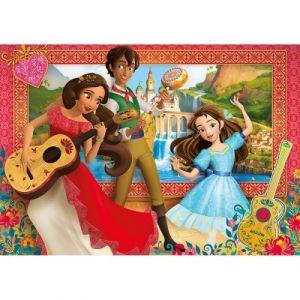 Clementoni Elena d'Avalor - Puzzle 60 pièces Super Color Maxi