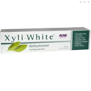 Now Foods Xyli White Refreshmint - Toothpaste gel