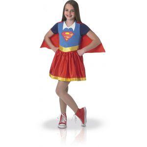 Déguisement classique fille Supergirl Superhero Girls