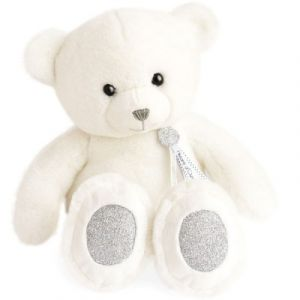 Histoire d'ours Peluche ours Charms blanc (40 cm)