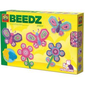 Ses Creative Beedz - Perles à repasser Jardin parfumé