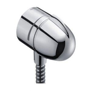 """Hansgrohe Fixfit Stop Coude avec robinet d'arrêt intégré M 1/2"""" chromé"""