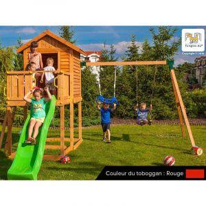 Fungoo My House Move - Plateforme de jeux en bois
