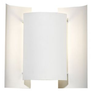 Northern Lighting Butterfly Applique murale, blanc