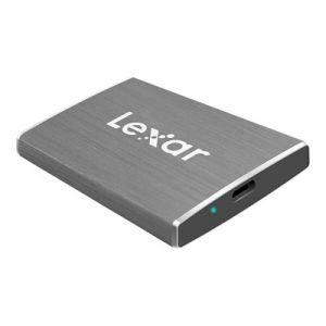 Lexar SL100 Disque SSD 512 Go externe (portable) USB 3.1 (USB-C connecteur) - Gris
