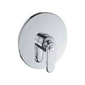 Grohe 19367000 - Façade VERIS pour mitigeur monocommande sans inverseur automatique bain-douche chromé