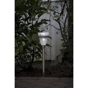 Konstsmide lampe solaire ASSISI en inox à LED