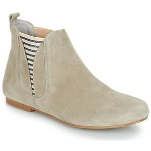 Ippon Vintage Boots PATCH-FLYBOAT-CIMENT Gris - Taille 36,37