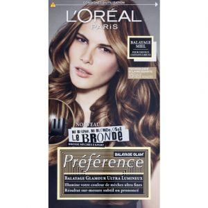 L'Oréal Préférence Glam Bronde Glam Bronde Miel pour cheveux châtains à bruns