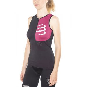 Compressport Triathlon Postural Ultra - Femme - noir M Combinaisons triathlon