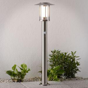 Lampenwelt LED Eclairage Exterieur avec Detecteur de Mouvement 'Gregory' en inox