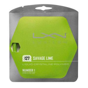 Luxilon Ficelle Savage 12.2 M - Lime - Taille 1.27 mm