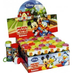 WDK Partner Flacon de bulles de savon Mickey Mouse (60 ml)