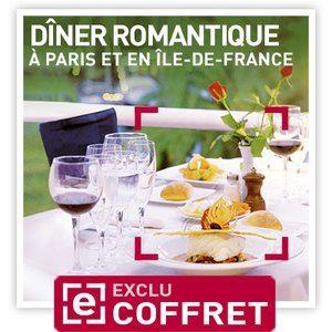 Smartbox Dîner romantique à Paris - Coffret cadeau