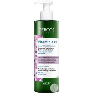 Vichy Dercos Nutrients Vitamin A.C.E Shampoing