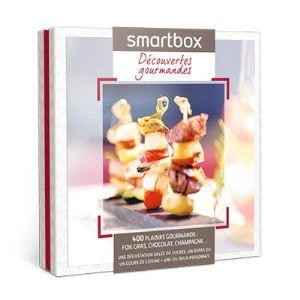 Smartbox Découvertes gourmandes - Coffret cadeau