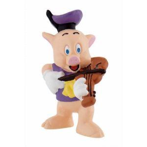Bullyland Figurine Petit cochon violoniste (Les Trois Petits Cochons)