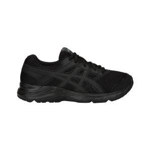 Asics Contend 5 GS Chaussures de Running Compétition garçon, Multicolore Black 002, 39 EU
