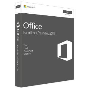 Office Famille et Etudiant 2016 (Mac) pour Mac OS