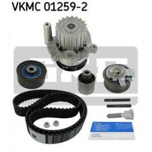 SKF Kit de distribution avec pompe à eau VKMC012592