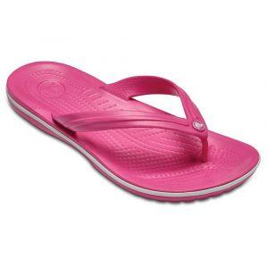 Crocs Crocband Flip, Tongs Mixte Adulte, Rose (Paradise Pink/white) 42/43 EU