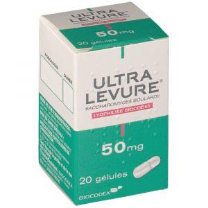 Biocodex Ultra Levure 50 mg - 20 Gélules