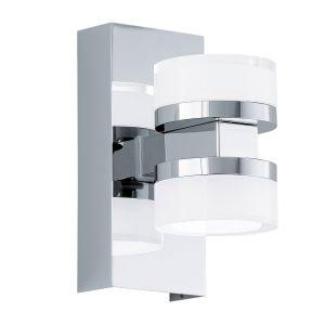 Eglo Applique ROMENDO LED Chrome, 2 lumières - Moderne - Intérieur - ROMENDO
