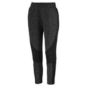 Puma Evostripe Pants Pantalons Femme, Cotton Black/Heather, FR (Taille Fabricant : XL)