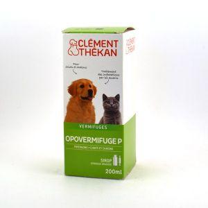 Clément Thékan Opovermifuge P pour chiot et chaton 200 ml