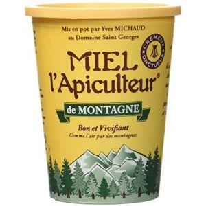 Lune de miel MIEL L'Apiculteur Miel de Montagne Pot Carton 500 g