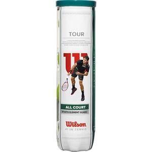 Wilson Balles de tennis Tour â?? Boîte de 4balles