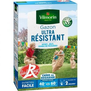 Vilmorin Gazon Ultra Résistant boite de 1 kg