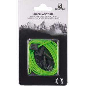 Salomon L32667700, Chaussures de Trail Mixte Adulte, Vert (Vert), 42 2/3 EU