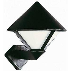 Albert Leuchten Applique d'extérieur moderne 175, noir