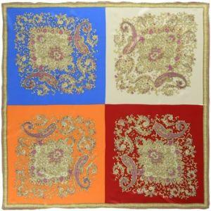 Allée du foulard Carré de soie Premium Pamyre