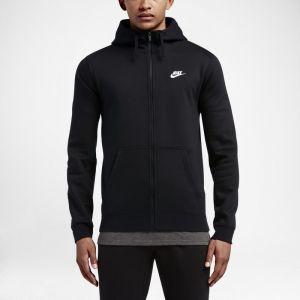 Nike Sweatà capuche Sportswear Club Fleece pour Homme - Noir - Taille L - Homme
