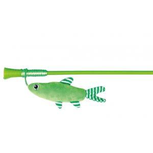 Trixie Canne à pêche avec poisson - 42cm - Pour chat