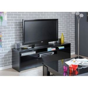 Meuble TV Strass à 2 portes