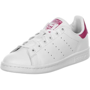 Adidas Junior Baskets Bas B32703 Stan Smith J Taille 35 1-2 Bianco/Fuxia
