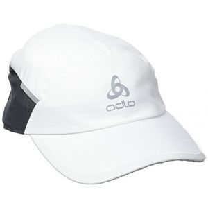 Odlo Fast & Light Casquette Running Mixte Adulte, White, FR : L (Taille Fabricant : L/XL)