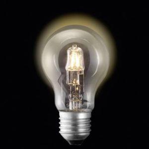 Sygonix Ampoule halogène Eco 28987W E27 70 W = 100 W blanc chaud forme de poire à intensité variable 3 pc(s)