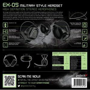 Gioteck EX-05 - Casque sans fil