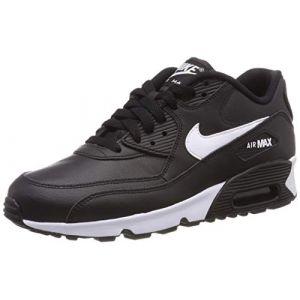 best cheap 5bf70 eb0b4 Nike Chaussure Air Max 90 Leather pour Enfant plus âgé - Noir ...