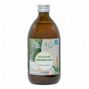 Jus d'Aloe Vera Arborescens Vegan 500 ml marron