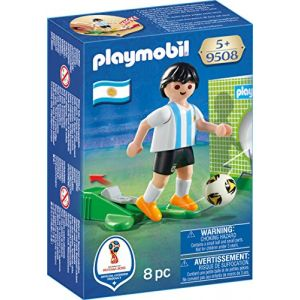 Playmobil 9508 - Coupe du Monde de la FIFA Russie 2018 - Joueur de foot Argentin