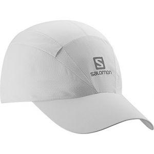 Salomon Unisexe Casquette en Maille, Imperméable, XA Cap, Taille Ajustable, S/M, Blanc, L38005600